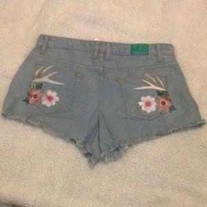 Judith March Denim Shorts